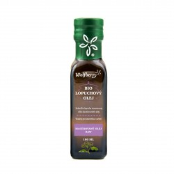 Lopuchový olej BIO 100ml Wolfberry