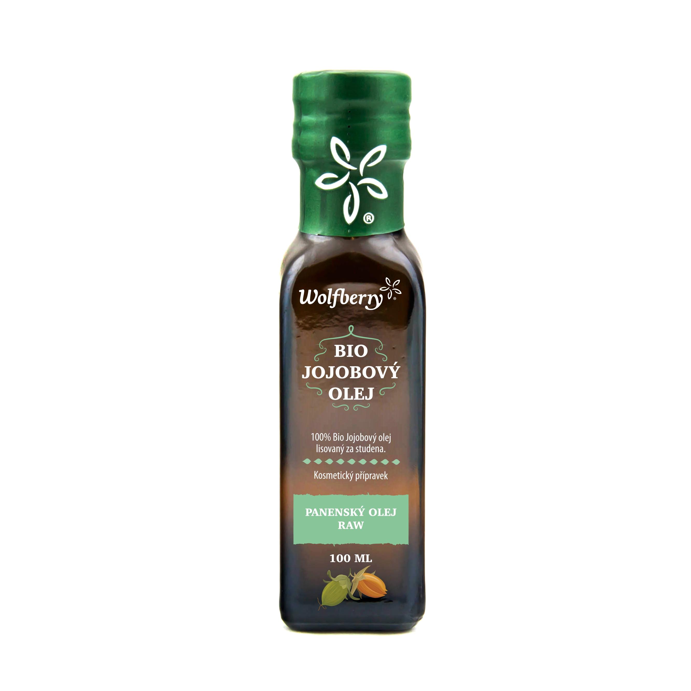 Jojobový olej bio 100ml wolfberry