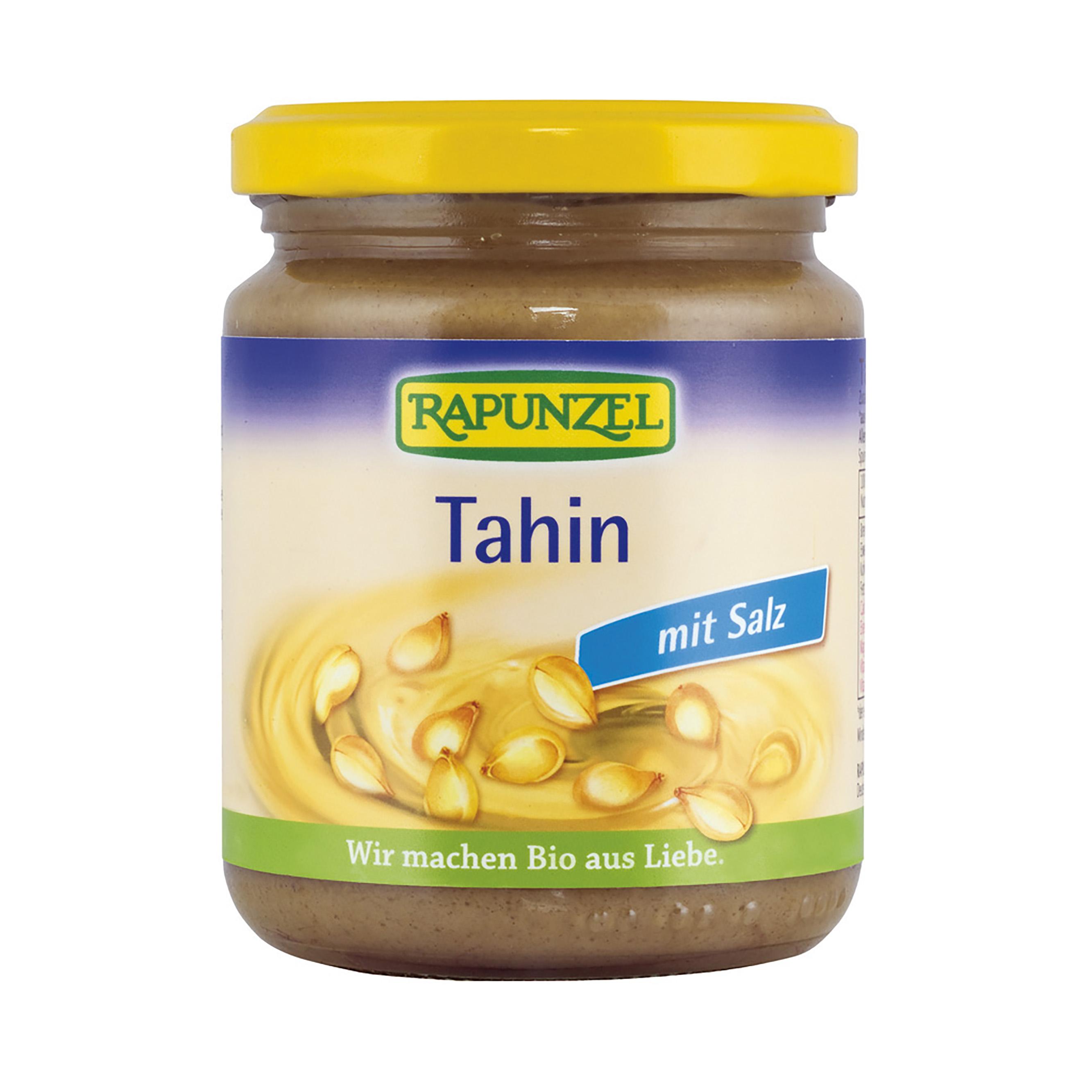 Tahini se solí - sezamová pasta bio 250g rapunzel