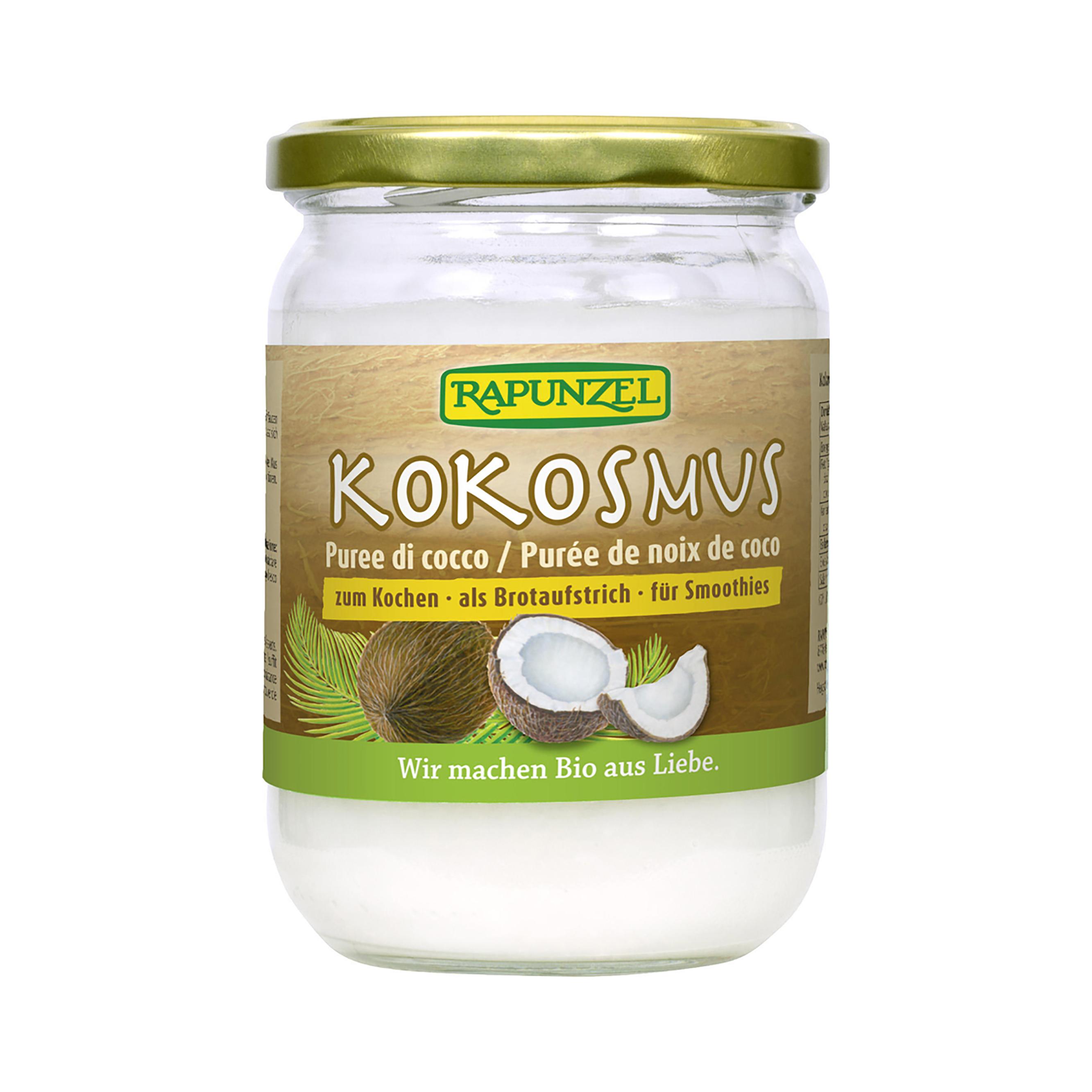 Kokosová pasta bio 500g rapunzel