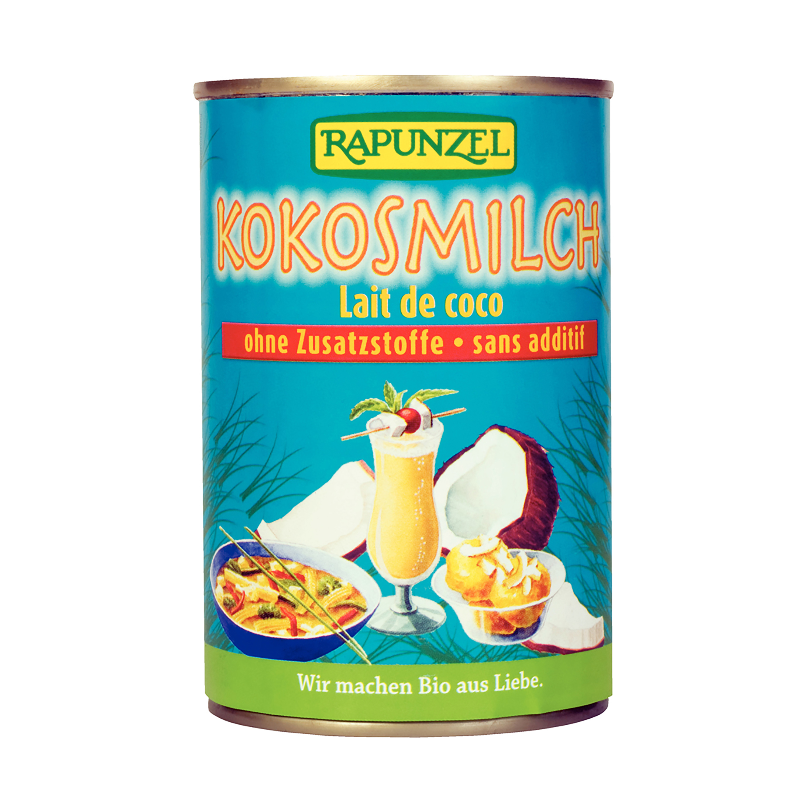 Kokosové mléko bio 400ml rapunzel