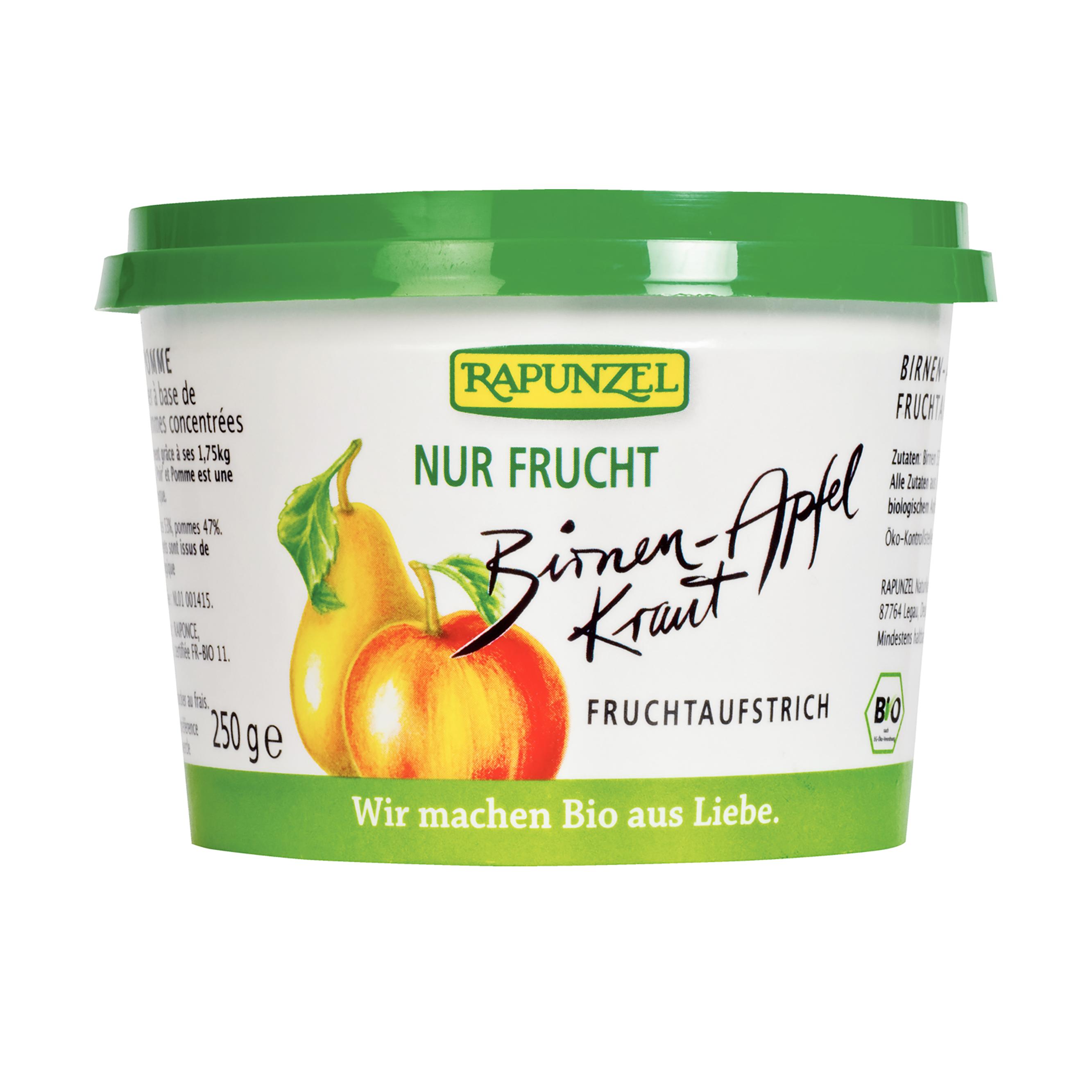 Hruškovo-jablečná povidla bez cukru bio 250g rapunzel