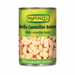 Bílé fazole sterilované BIO 400g Rapunzel
