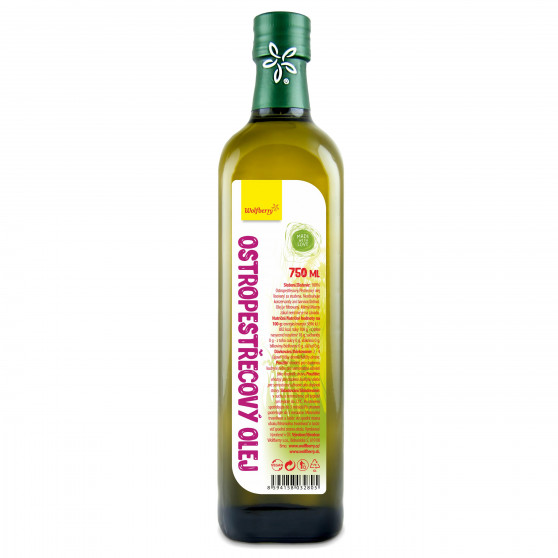 Ostropestřecový olej 750ml Wolfberry