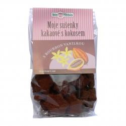 Moje sušenky kakaové s kokosem BIO 130g BioNebio
