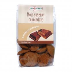 Moje sušenky čokoládové BIO 130g BioNebio