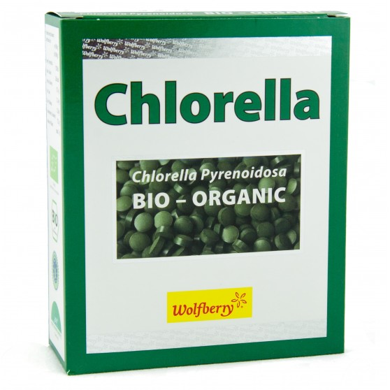 Chlorella BIO 450tablet Wolfberry - doplněk stravy