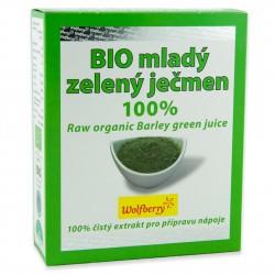 Mladý ječmen šťáva BIO 75g Wolfberry - doplněk stravy