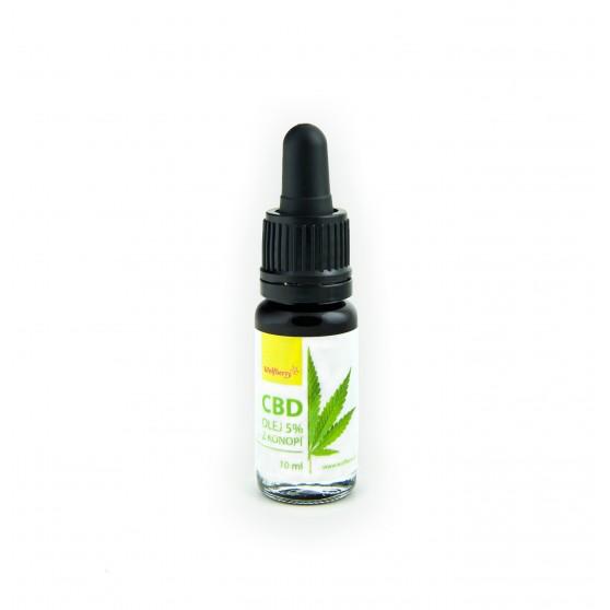 CBD Konopný olej 10 ml Wolfberry