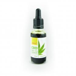CBD Konopný olej 30 ml Wolfberry