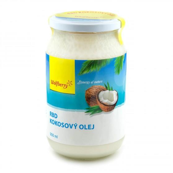 RBD Kokosový olej 1000ml Wolfberry