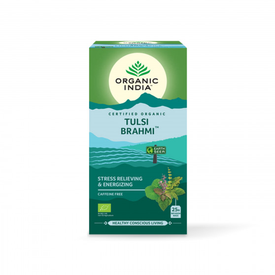 Tulsi Brahmi BIO 25sáčků Organic India