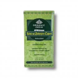 Tulsi se zeleným čajem BIO 25sáčků Organic India