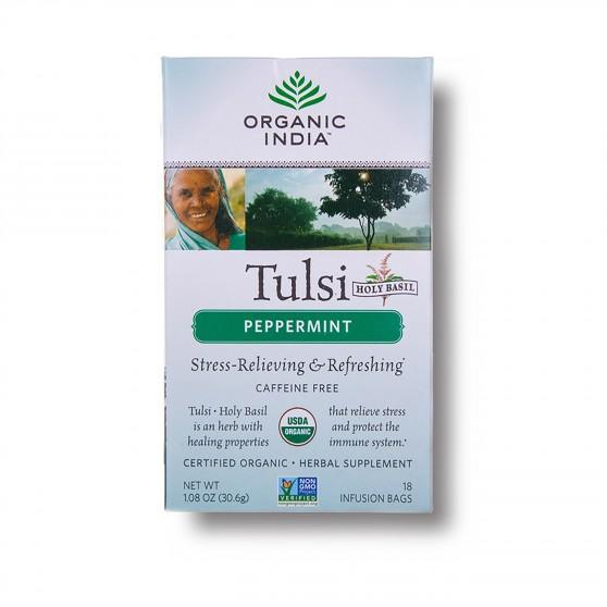 Tulsi s mátou BIO 18sáčků Organic India