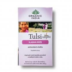 Tulsi sladká růže 18sáčků Organic India