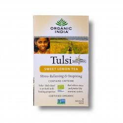 Tulsi sladký citron BIO 18sáčků Organic India