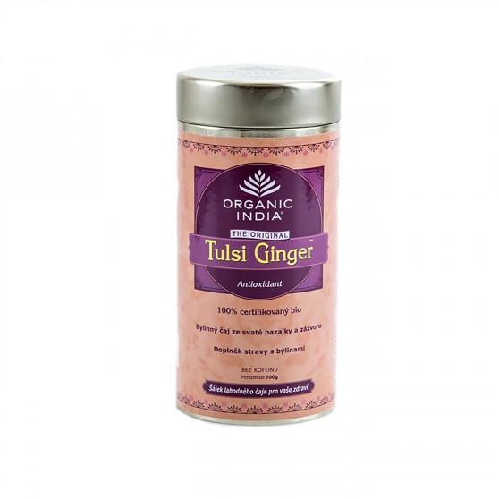 Tulsi Ginger BIO 100g Organic India