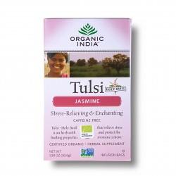 Tulsi jasmín BIO 18sáčků Organic India