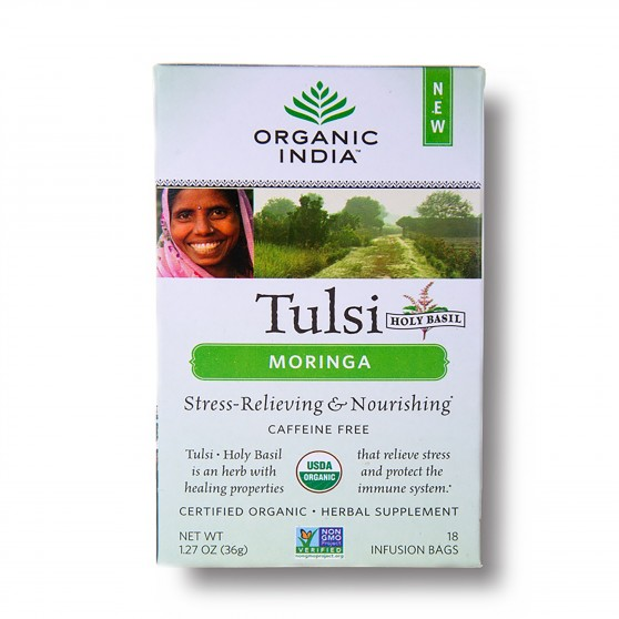 Tulsi Moringa BIO 18sáčků Organic India