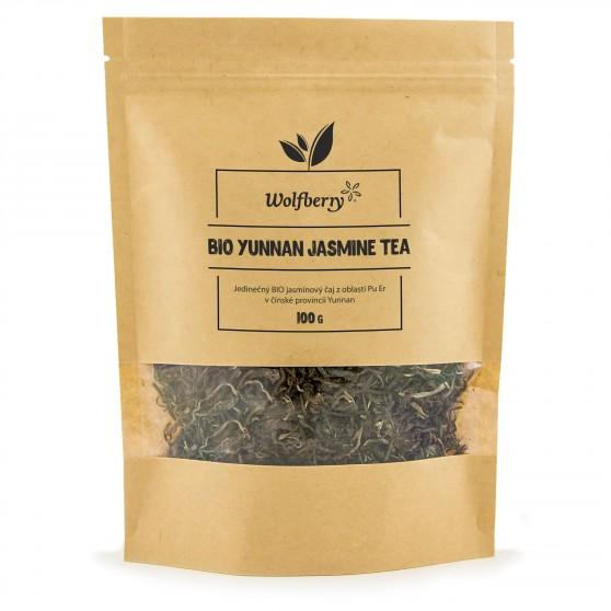 Jasmínový čaj Yunnan BIO 100 g Wolfberry