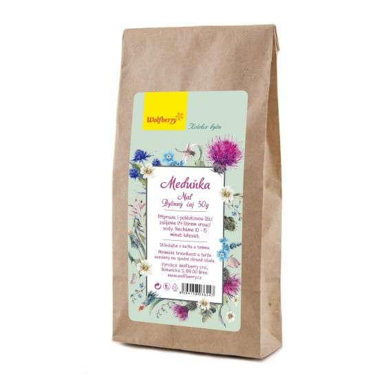 Meduňka nať bylinný čaj 50g Wolfberry