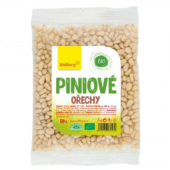Piniové ořechy BIO 50g Wolfberry