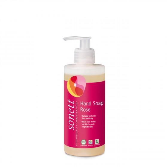 Tekuté mýdlo růže 300ml Sonett