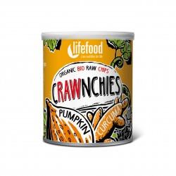 Crawnchies dýňové s kurkumou BIO RAW 30g Lifefood