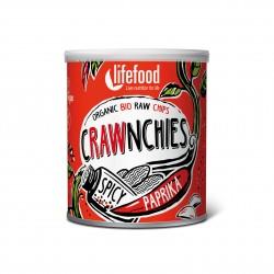 Crawnchies pikantní s paprikou BIO RAW 30g Lifefood