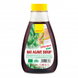Agáve sirup BIO RAW Premium 400 ml Wolfberry