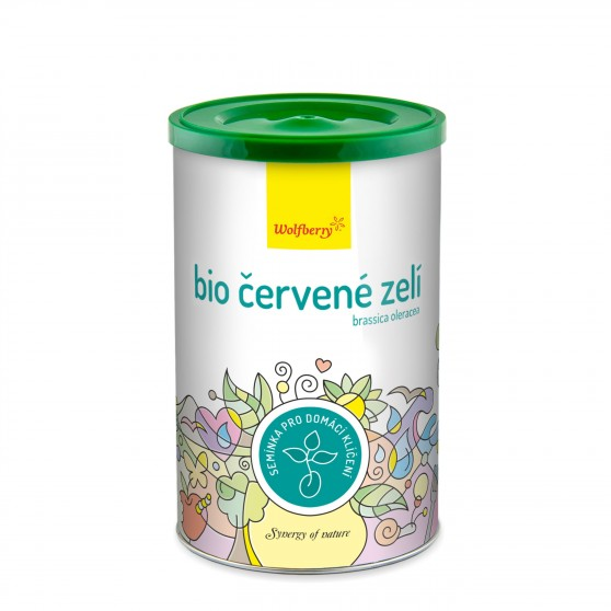 Červené zelí BIO semínka na klíčení 200g Wolfberry