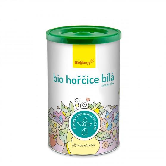 Hořčice bílá BIO semínka na klíčení 200g Wolfberry