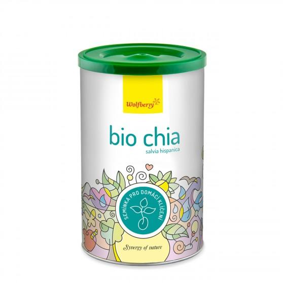 Chia BIO semínka na klíčení 200g Wolfberry