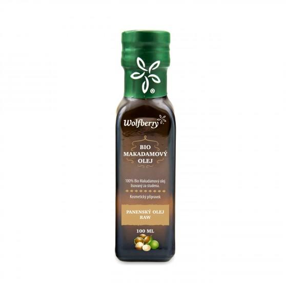Makadamový olej BIO 100ml Wolfberry
