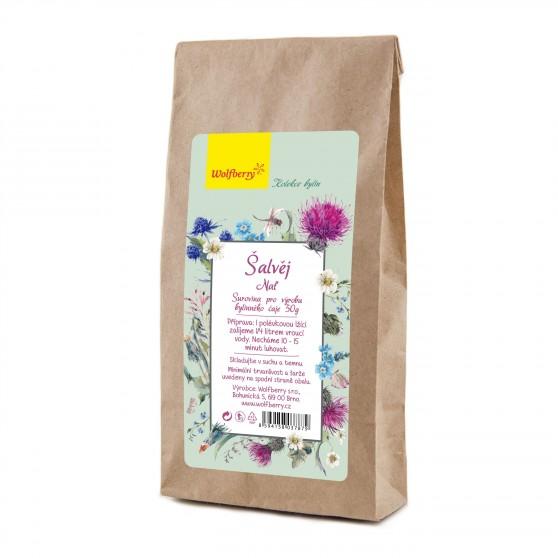 Šalvěj bylinný čaj 50g Wolfberry
