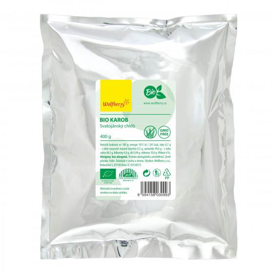 Karob svatojánský chléb BIO 400g Wolfberry