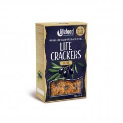 Life placky s olivami BIO RAW 90g Lifefood