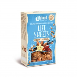 Zasněžené mandle Life Sweets BIO RAW 90g Lifefood