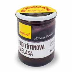 Třtinová melasa BIO 450g Wolfberry