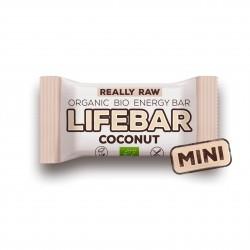 Lifebar kokosová MINI BIO RAW 25g Lifefood
