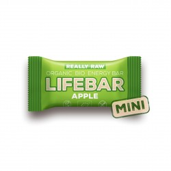 Lifebar jablečná MINI BIO RAW 25g Lifefood