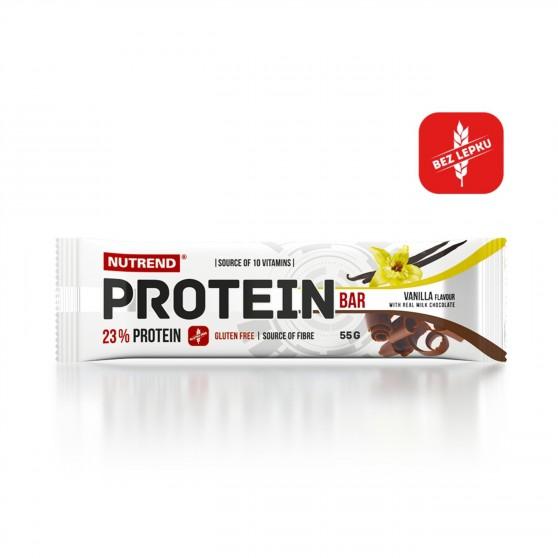 Tyčinka PROTEIN Bar vanilka 55g Nutrend