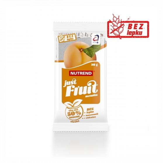 Tyčinka JUST FRUIT meruňka 30g Nutrend
