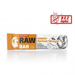 Tyčinka RAW Bar meruňka + mandle ořech 50g Nutrend