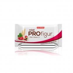 Tyčinka PROFIGUR MÜSLI brusinková s jogurtovou polevou 33g Nutrend