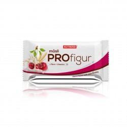 Tyčinka PROFIGUR MÜSLI višňová s jogurtovou polevou 33g Nutrend