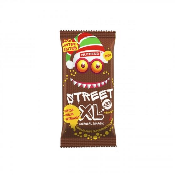 Tyčinka STREET XL čokoládová s jogurtovou polevou 30g Nutrend