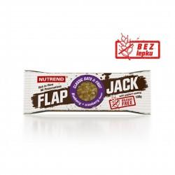 Tyčinka FLAPJACK GLUTEN FREE borůvka a brusinka s jogurtovou polevou 100g Nutrend