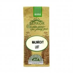 Maliníkový list řezaný BIO 5 g Benkor
