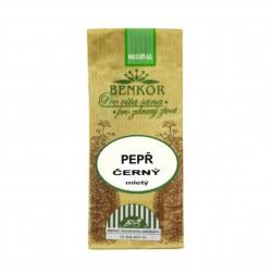 Pepř černý mletý BIO 25 g Benkor